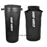 China Black Rafting Waterproof Dry Bags D31 X H50cm Size With Silk Screen Printing wholesale