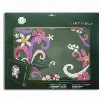 China Laptop Skin, Measures 12.2 x 8.3cm, Available in 14-design, Non-stick Dirt wholesale