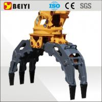 China china supply advanced digger large wood stone excavator hydraulic grapple  for sale wholesale