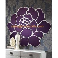 China China Factory Venetian Mirrors Flower Design Shape Wall Mirror For Home Decor wholesale