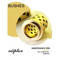 Buy cheap C86300 SAE430B Manganese Bronze Flange Bushings With Solid Lubricant Plugs from wholesalers