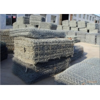 China 80X120mm 3.2mm Gabion Wire Mesh for Seawalls wholesale