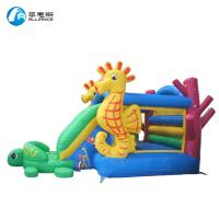 Buy cheap Anti Mildew Kids PVC Tarpaulin Inflatable Bounce Castle Easy Installation from wholesalers