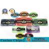 China Hot 760 Acrylic Chips Bargaining Poker Chip Set Custom With Aluminum Case With Factory Price wholesale