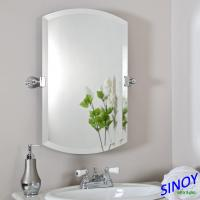 China Unframed Bathroom Glass Mirror In Different Shapes And Sizes For Bathroom Applications wholesale