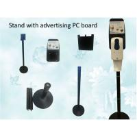 Quality Motion Sensor Metal Free Standing Hand Sanitizer Dispenser With Drip Tray wholesale