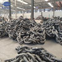 Buy cheap High Strength Grade U3 Self Color Ship Stud Link Marine Anchor Chain from wholesalers