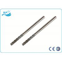 China Micro Grain Carbide Material Solid Carbide End Mill with 45 Helix wholesale