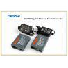 China 25KM 10/100 Gigabit Ethernet WDM Bi-Directional Single Mode Netlink Fiber Media Converter wholesale