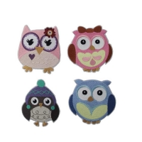 China ODM Felt Embroidered Animal Patches wholesale
