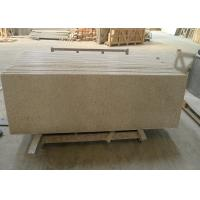 China Yellow Granite Stone Tiles 2700kg / M³ Granite Density 20 / 30mm Thick wholesale