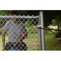 China 25mm Heavy Duty Interior Premade Chain Link Fence wholesale