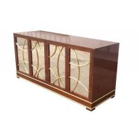 China Antique Hotel Room Dresser 5 Star Hotel MDF Board With Recessed Back Panel wholesale