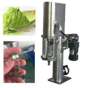 China Semi Automatic Powder Packing Machine Powder Filling Machine from Shanghai wholesale