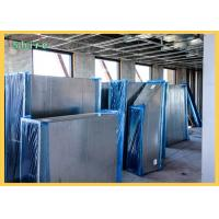 China Shield Blue Color Duct Protection Film / PE Temporary HVAC Duct Cover wholesale
