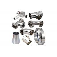 Dairy Fittings Stainless Steel Sanitary Pipe Fittings Tri-Clamp Fittings Welding Fittings