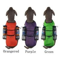 China Large Dog Mesh Sports Harness Big Dog Self Back Carrier Bags Sport Travel 3 Col. wholesale