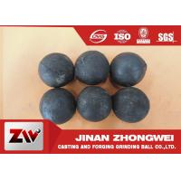 Quality No Breakage Grinding Steel Balls for mining and Cement / steel mill media wholesale