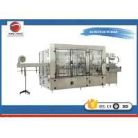 China Aseptic Automatic Liquid Filling Machine 11KW , Sparkling Drinks Liquid Filling Line wholesale