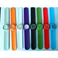 Quality Charm Flexible Silicone Rubber Watch Fashionable Colored For Women for sale