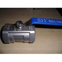 China 1-pc stainless steel ball valves 304 316 s304 s316 wholesale