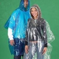 China Emergency Ponchos, Disposable and Water-resistant, Made of PE, Customized Colors/Logos Welcomed wholesale
