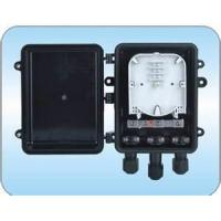 Buy cheap 250 * 192 * 89 mm Horizontal Fiber Optic Splice Closure With 3 In / Outlet Port, from wholesalers