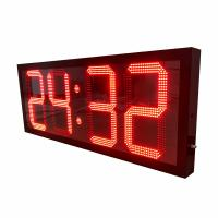China Outdoor 1600mm *600mm * 100mm Large Digital Clock 15 Months Warranty wholesale