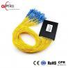 China Customized PLC Fiber Optic Splitter Module 1X64 Full Operating Wavelength 1260-1650nm wholesale