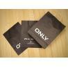 Quality Plain Color Custom Paper Bags Matte Black Packaging Kraft Paper for sale