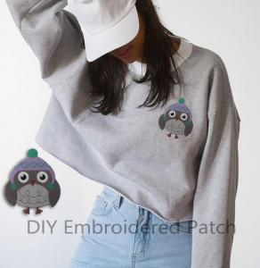 China ODM Partial Embroidered Animal Patches Embroidered Patches For Clothes wholesale