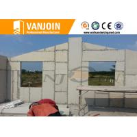 China Light partition Sandwich Wall Panels , compound eps insulated panels decorative wholesale