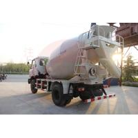 Front Discharge Concrete Mixing Truck With Pump 3800mm Wheel Base Strong Power