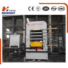 China Best Value Wood Pvc Door Skin Press Machine Laminating Hot Press Short Cycle wholesale