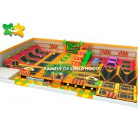 Buy cheap Sky Zone Trampoline Park Equipment Soft Play Area With Baby Care Fence Safety from wholesalers