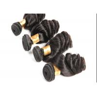 China New Style Full Cuticle Loose Wave Hair  Extensions #1B Remy Human Hair Weave wholesale