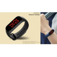 China Intelligent Heart Rate Monitor GPS Temperature Measuring Bracelet wholesale