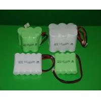 China Environmental Nicd Rechargeable Battery Pack , 1.2V 1500 mAh UL / ROHS / CE wholesale
