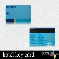 Quality Hotel Key PVC Magnetic Stripe Cards For VIP Card Rounded Corners for sale
