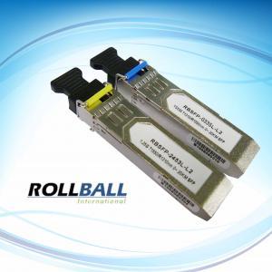 China 20Km ,BIDI SFP Module , Rollball SFP Module, 1.25Gbs wholesale