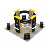 Quality 6X6 M Trade Show Exhibits Displays Eco Friendly Grafics Wrinkle Free Easy Assemble for sale