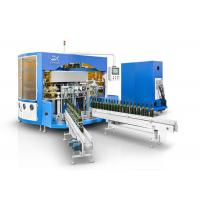 China Multi Color Auto Screen Printing Machine With LED UV Curing Device wholesale