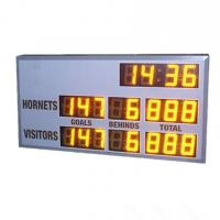 China Small Model AFL Electronic Scoreboard 60cm X 120cm X 10cm With 6 Inch Digits wholesale