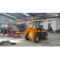 China hotsell ZL16 1.6t capacity wheel loader 926 816 916  with pallet  fork pilot control and luxus cabin air conditioner wholesale