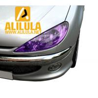 China High quality protection car light tint film purple lamp sticker in 0.3*10m wholesale