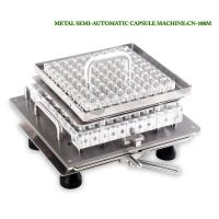 Quality Lab Semi Auto Capsule Filling Machine Size 00# 0# For Health Care Product for sale