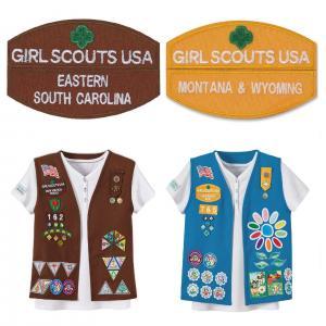 China Ballistic Nylon Boy Scout Patch wholesale