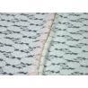 China Elegant Colored Breathable Brushed Jacquard Lace Fabric For Women wholesale