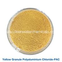Roller Yellow Polyaluminium Chloride Powder flocculant polymer pac 30% For Waste Water Treatment