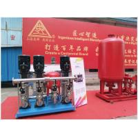 China Horizontal Orientation Diaphragm Pressurized Water Tank Excellent Sealability on sale